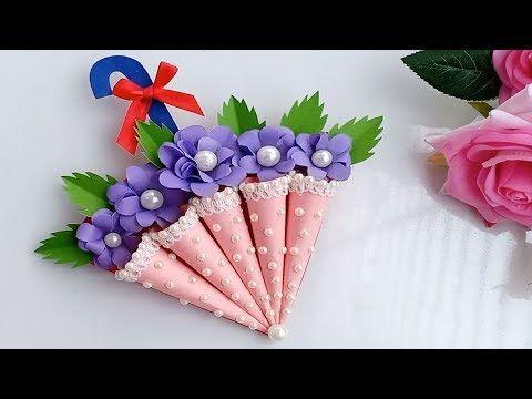How To Make Umbrella Birthday Card Diy Birthday Card Youtube Birthday Cards Diy Card Making Birthday Handmade Birthday Cards