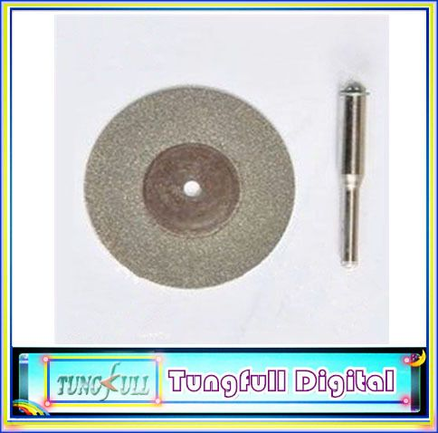 $13.00 (Buy here: http://appdeal.ru/8kg3 ) 2PC 60mm Diamond coated cut Disc For Dremel Rotary tools for just $13.00