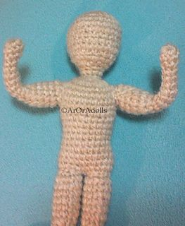 Amigurumi Basic Doll Free Pattern : Male body, Amigurumi and Crochet dolls on Pinterest