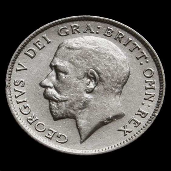 1922 George V Silver Sixpence VF