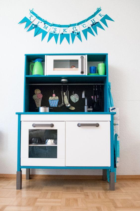Spielküche für Kinder >> DIY - IKEA - Duktig - Play Kitchen - Kinderküche