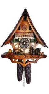 Relógio de Cuco <br> ursos na floresta
