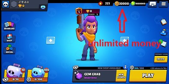 Download Brawl Stars V 20 93 Hack Mod Apk Unlimited Everything Soldi App Giochi
