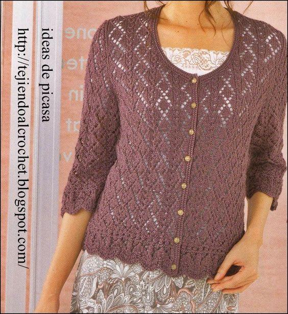 Tejidos a dos agujas tricot patrones graficos todo - Jerseys faciles de hacer ...