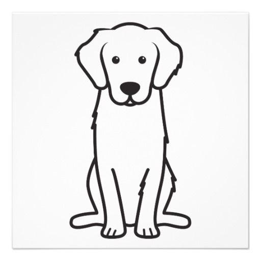 Golden Retriever Dog Cartoon Custom Invites Cartoon Dog Dogs Golden Retriever Cartoon Posters
