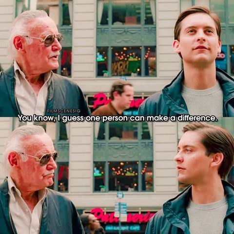 Spider Man 3 2007 Stan Lee Truly Made A Difference Repost From My Other Account Filmscenesig Stan Lee Spiderman Spiderman Homecoming Stan Lee