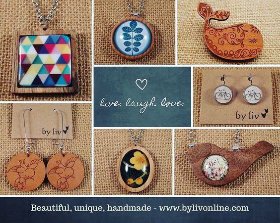More #unique #jewellery designs that are available at #bylivonline . Who's on your #christmas list this year? #present #gift #foryou #special #handmade #handcrafted #beautiful #shop3280 #warrnambool #australianmade by bylivonline