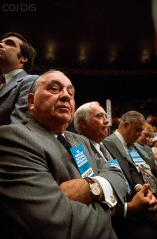 Mayor Richard Daley at 1968 Democratic National Convention - WL001027 - Rights Managed - Stock Photo - Corbis:
