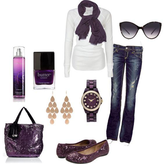 purple, created by krystatarman.polyvore.com