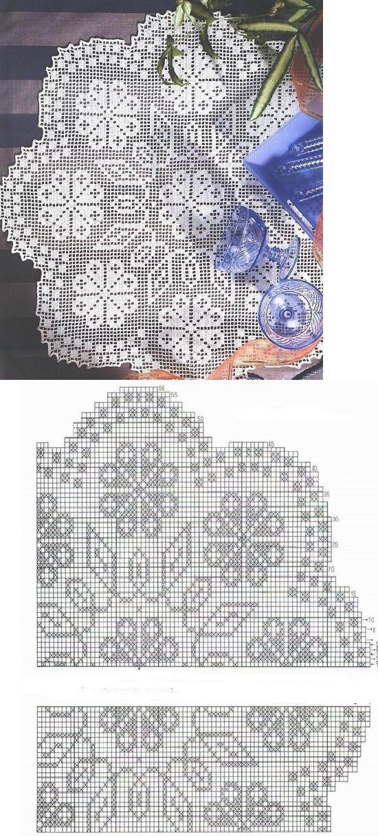 crochet lace ...<3 Deniz <3