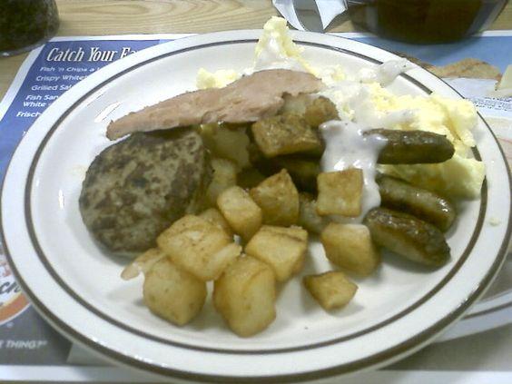 Frisch's breakfast bar