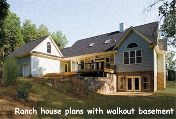 Pinterest the world s catalog of ideas for Ranch house plans with basement