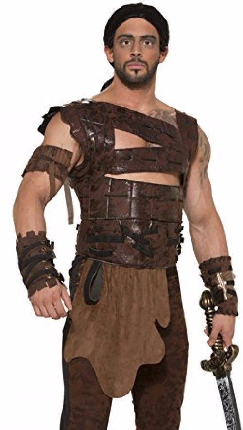 Game of Thrones Drogo Faux Leather Armor and Belt Costume Accessory