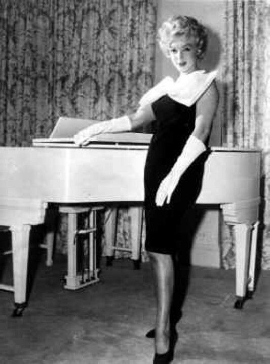 Image result for marilyn monroe baby grand piano