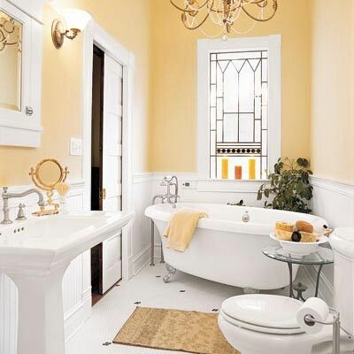 Small yet elegant bathroom