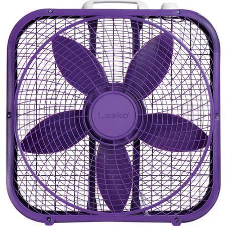 """Cool it! With a 20"""" Purple Box Fan"""