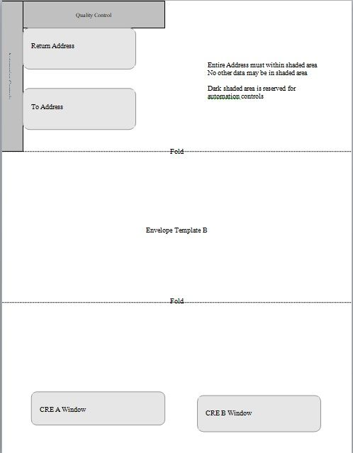 Download Printable Envelope Template For Business Envelope