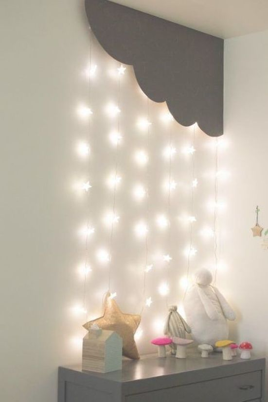 This Cloud With Cascading Lights Is Simply The Best Estella Kids Decor Bedroom Ceiling Light Wall Decor Bedroom Living Room Lighting