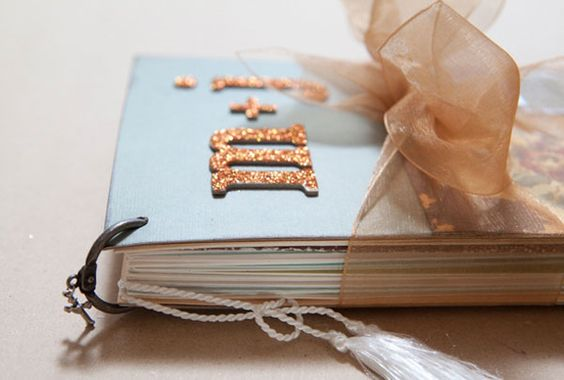 create a collection of all the wedding cards you receive.: