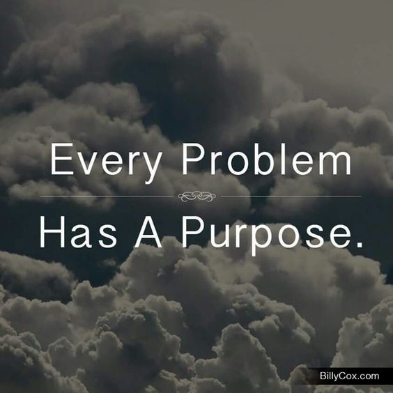 Indeed! We don't have problems without reason. Always seek the deeper meaning in everything. Rev. Sandra Rodgers