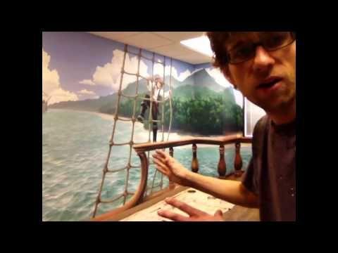Mural joe amazing artist with helpful instructions for Mural joe painting