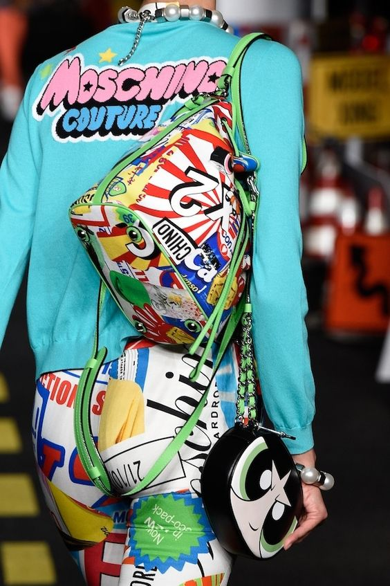 The Powerpuff Girls Show up for Moschino in Milan