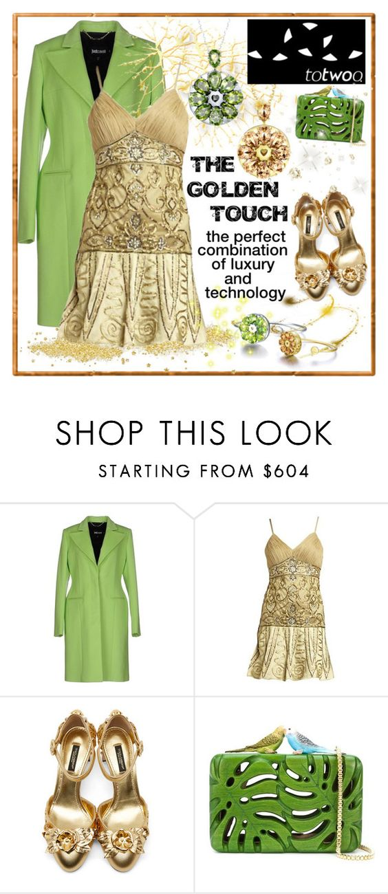 """""""TOTWOO GLOBAL LUXURIOUS SMART JEWELRY...."""" by carola-corana ❤ liked on Polyvore featuring Just Cavalli, Sue Wong, Dolce&Gabbana, Sarah's Bag, WearableTech, totwoo and smartjewelry"""