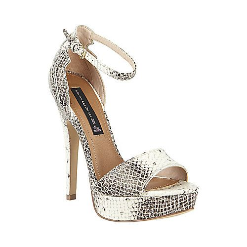 Steve Madden ELEVATTE NATURAL SNAKE heels - @STEVE MADDEN Scarborough Town Centre. #shoes