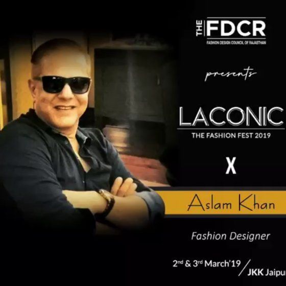 A Fashion Designer A Talent Groomer And An Image Stylist Aslam Khan Is A Well Known Name To All The Fashion Lovers An Fashion Design Groomer Fashion Lover