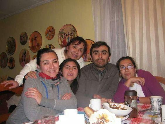 Mis hermanos y mamá