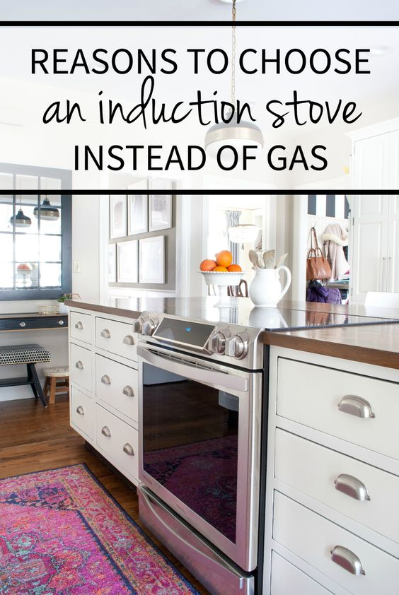 Things to consider when weighing gas vs. induction stoves and why induction often comes out ahead compared to a classic gas range.