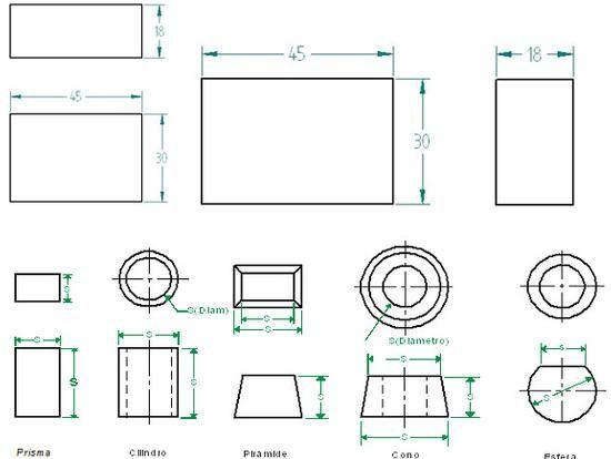 Dibujo Tecnico Tipos De Cota Dibujo Tecnico Acotacion Tipos De Cotas Tecnicas De Dibujo Disenos De Unas