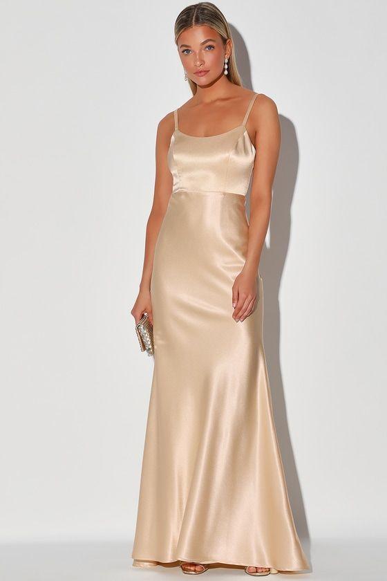 41+ Champagne maxi dress information