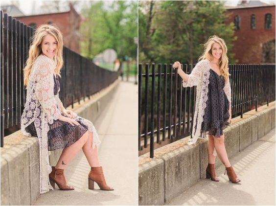 Editorial Fashion Photoshoot in Downtown Kent, Ohio by Destinee Stark Photography