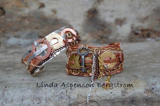 SteamPunk/Industrial bracelets  On SALE