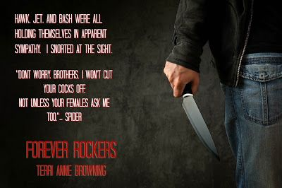 Forever Rockers (The Rocker, #12) by Terri Anne Browning ♫ #ReleaseBlitz ♫ #BadassBikerAlert ♫ #Giveaway (Signed paperback of Forever Rockers) ♫  - iScream Books