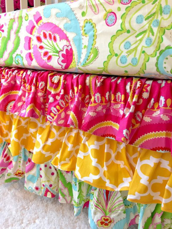 Ritzy Baby Made to Order Jeevan Pink Yellow by RitzyBabyOriginal