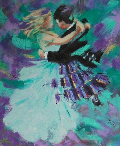 Janet Mccrorie Ae Fond Kiss Scottish Artists Art Scottish