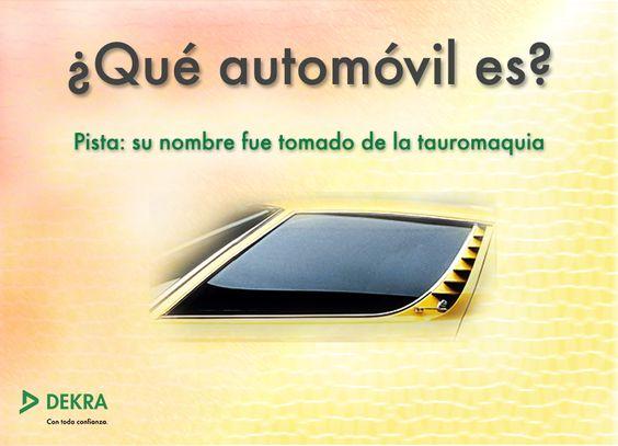 ¿Qué automóvil es? What car is it? #coche #automobile #automóvil