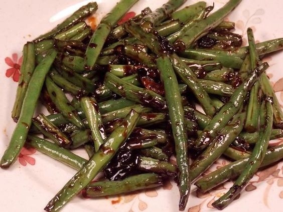 'Chinese Buffet' Green Beans made this last night and they're delicious :)