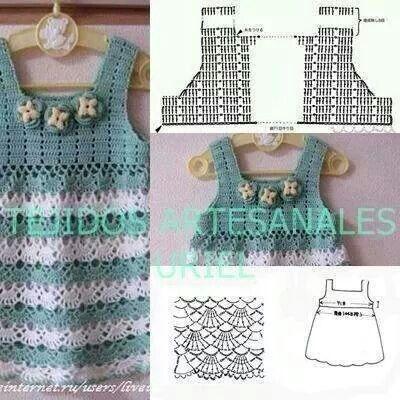 Vestido de niña | j | Pinterest | Patrones