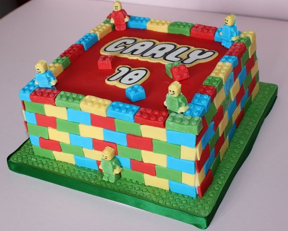Isn't this a cool birthday cake!
