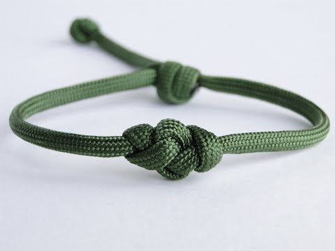 How To Make An Eternity Knot Paracord Bracelet With The Single