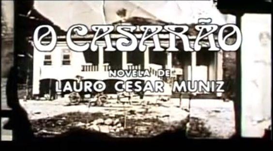 PAULO GRACINDO - FOTO - 00028 - o casarão - novela de LAURO CESAR MUNIZ - 1976 - exibida e produzida pela Rede Globo - take da abertura