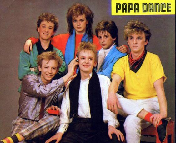Well Known Boysband Of The 80s Papa Dance Also Performing Synthpop Music