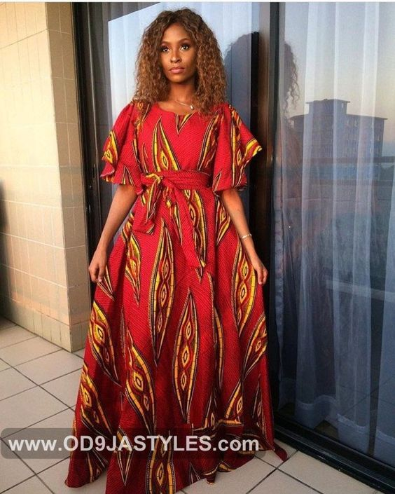 ANKARA STYLES GET INSPIRED NOW WITH THESE ANKARA LATEST FASHION STYLES - Ankara Styles - Ankara Long Gowns Styles