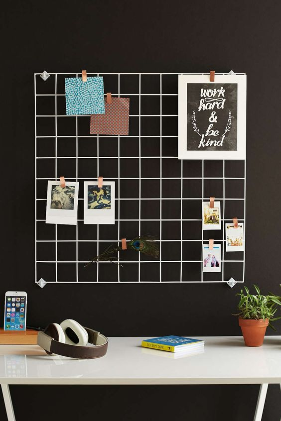 Wire Wall Square Grid Mesh Urban And Marker Board