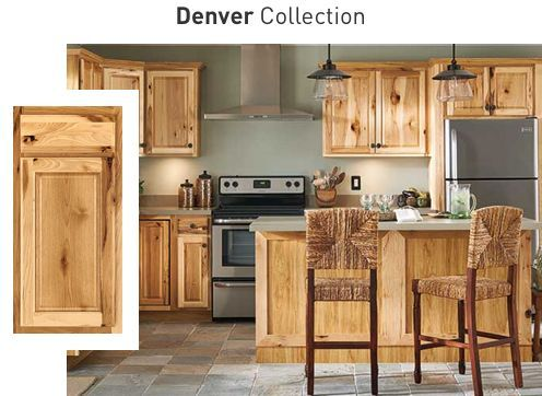 Denver Collection Hickory Kitchen Cabinets Timeless Kitchen Cabinets Hickory Kitchen