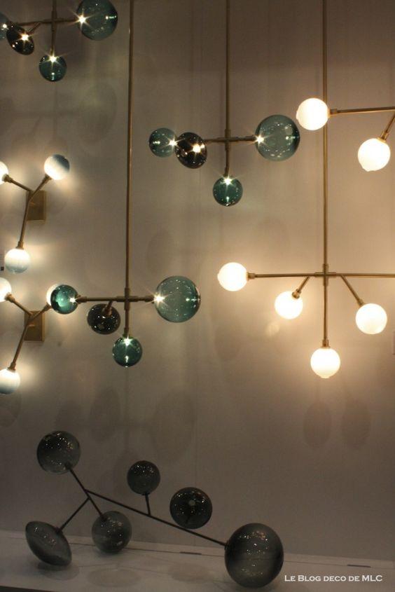 Luminaires design suspensions appliques murales lustres for Luminaire suspension exterieur design