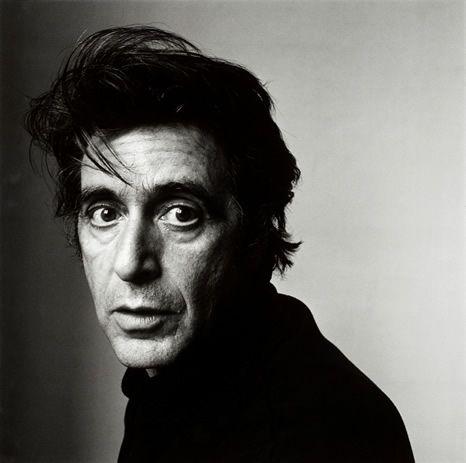 Al Pacino, New York, 1995.  By Irving Penn
